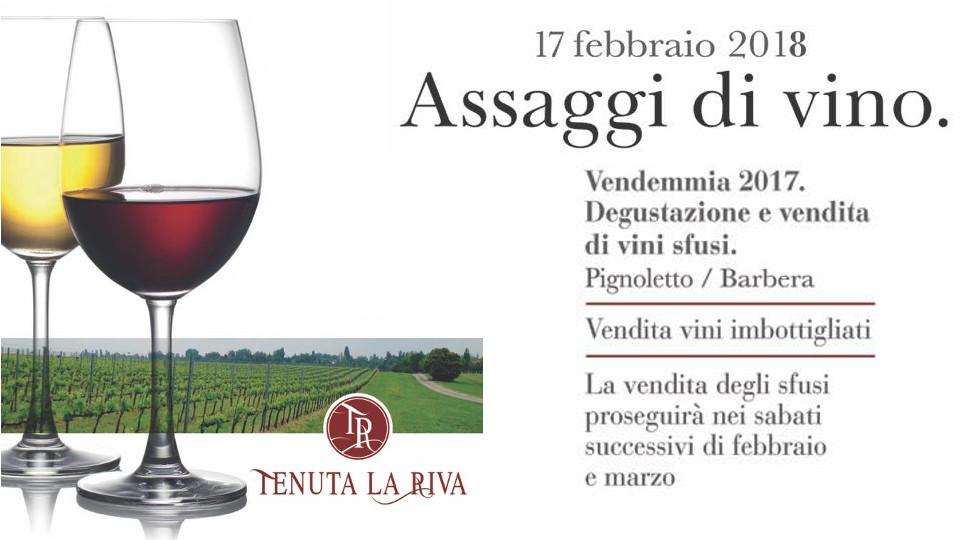 Assaggi di vino 2018