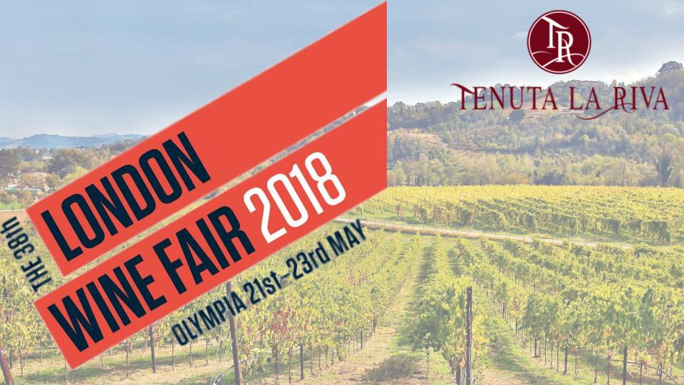 21 maggio – London Wine Fair