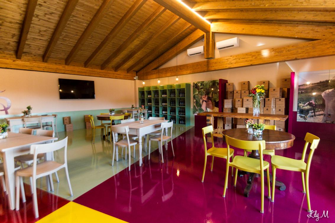 Sala Eventi Tenuta La Riva