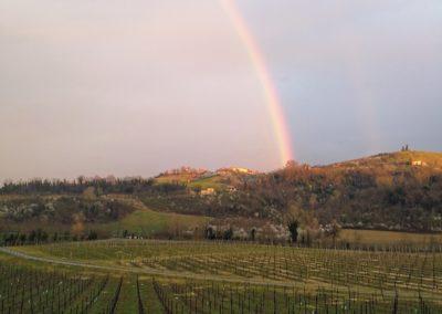 Arcobaleno a Tenuta La Riva