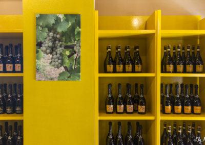 Tenuta La Riva - Esposizione Bottiglie