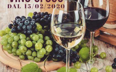 E' arrivato il vino sfuso!!