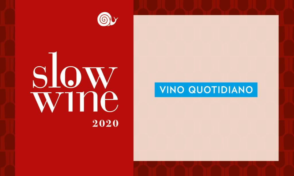 Riconoscimento Vino Quotidiano Slow Wine 2020