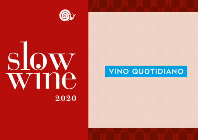 Riconoscimento Vino Quotidiano Slow Wine 2020